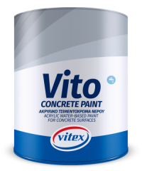 VITO FOR CONCRETE SURFACES ACRYLIC WATER-BASED PAINT